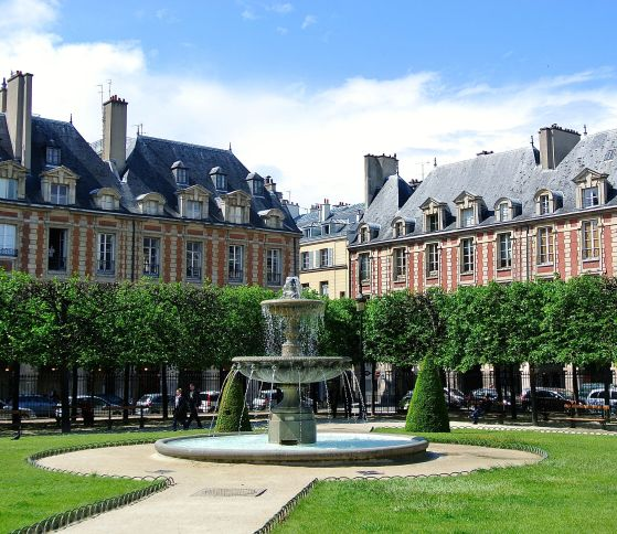 Jeanne Calitz:stillewe:parys place des voges